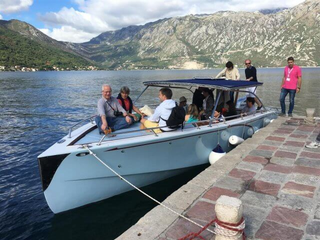 boat ride bay of kotor