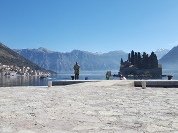 Amazing bay of Kotor Montenegro
