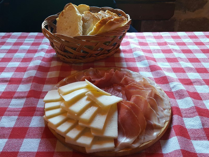 Things to do in Kotor smoked ham & cheese
