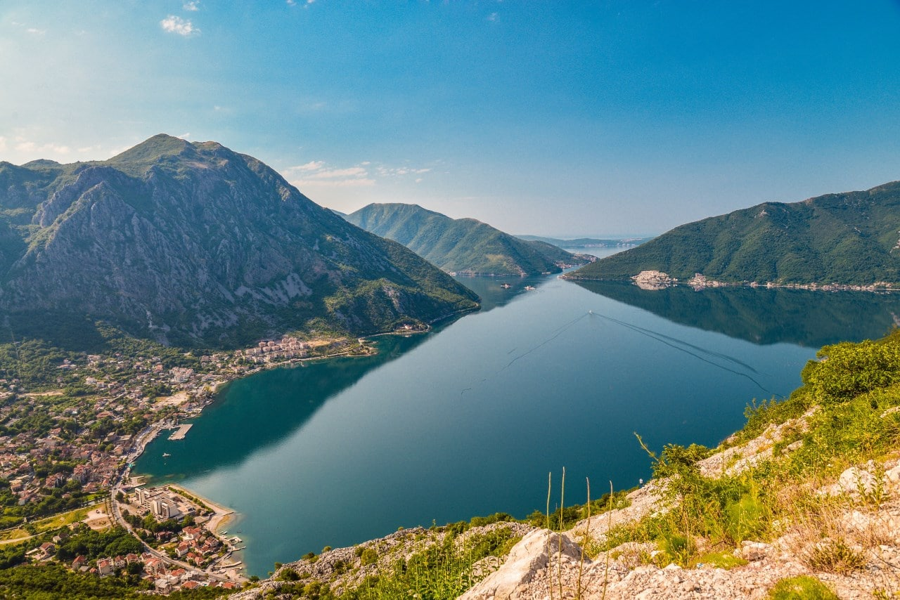 Voyage through the Bay of Kotor