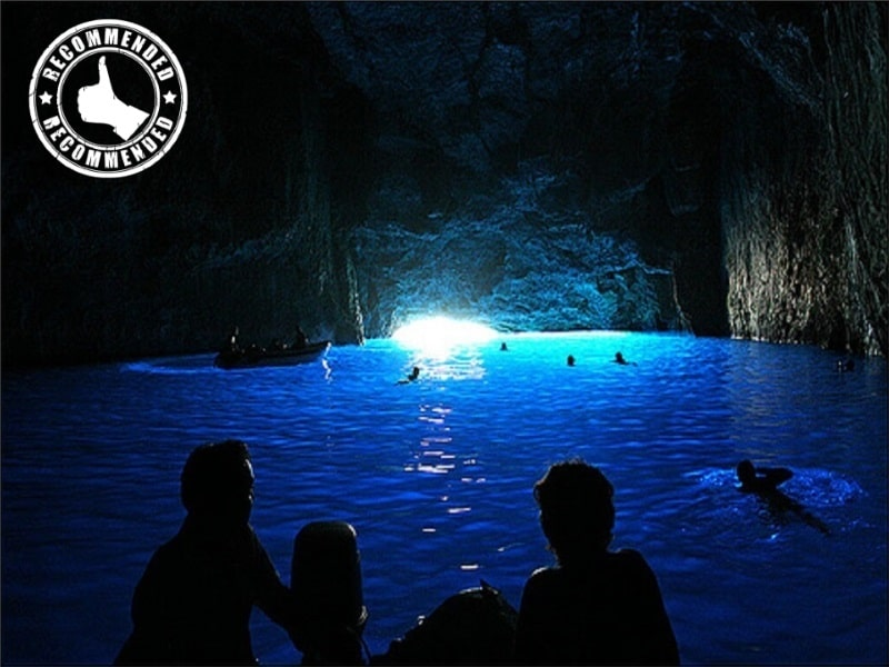 blue cave tour recommended