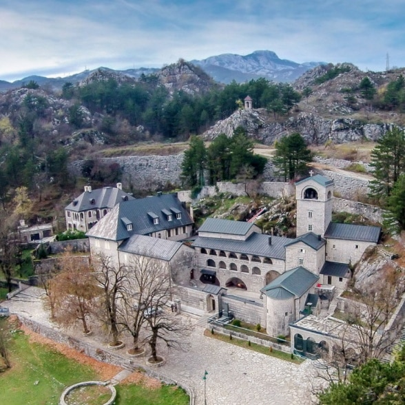 Monastery of the Nativity of the Blessed Virgin Mary in Cetinje, Montenegro