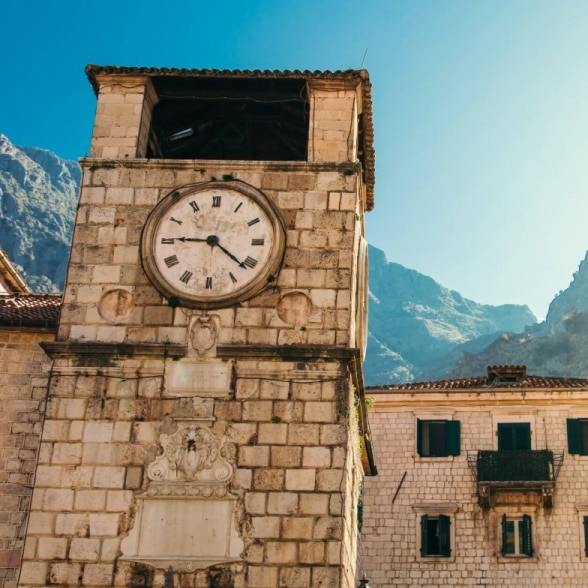 kotor clock tower