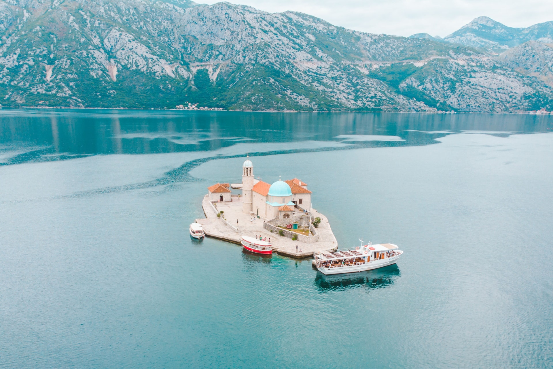 our lady of the rocks kotor bay